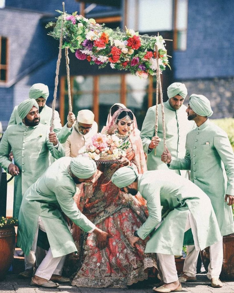 Offbeat Bridal Lehengas, sikh wedding