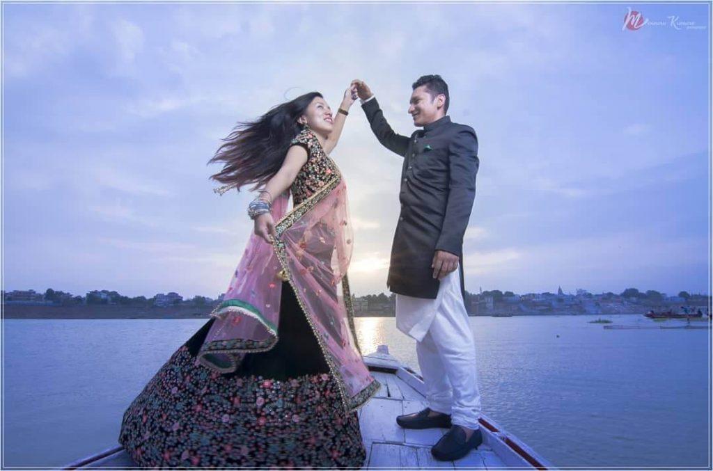 pre wedding in Varanasi