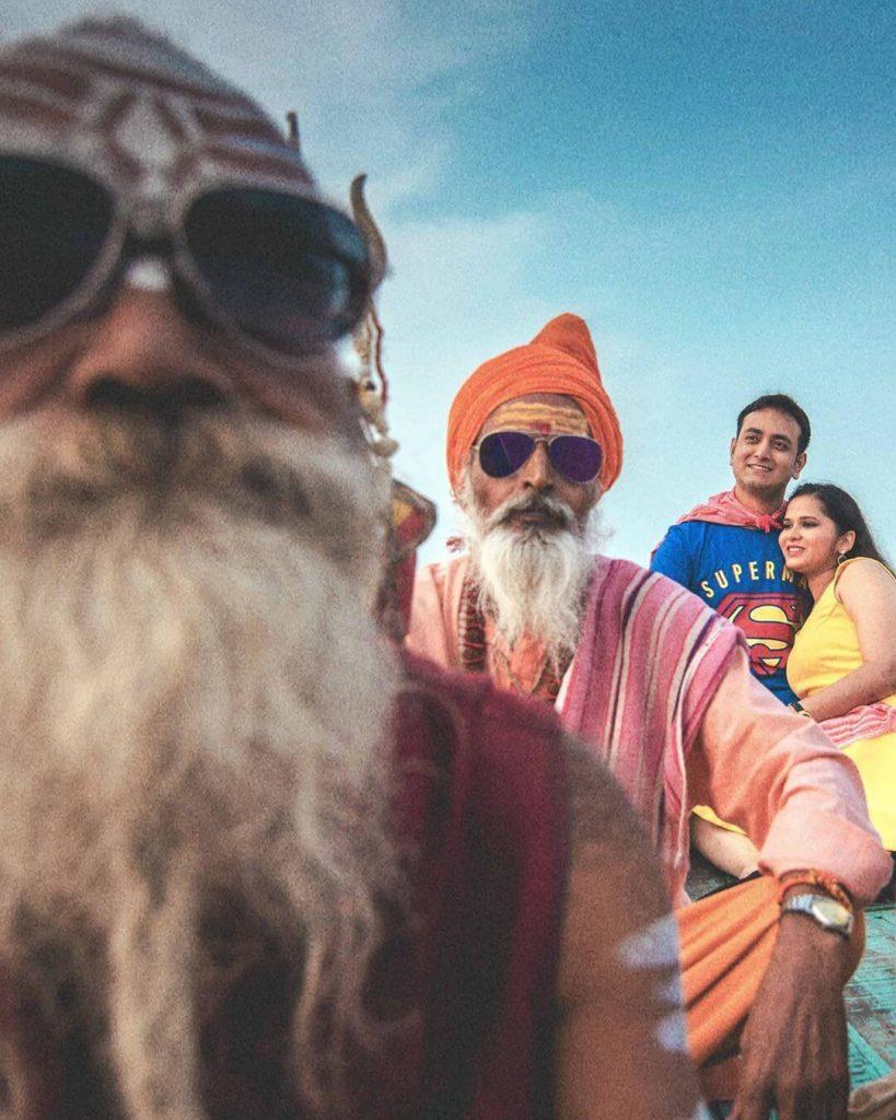 Pre Wedding Shoot In Varanasi