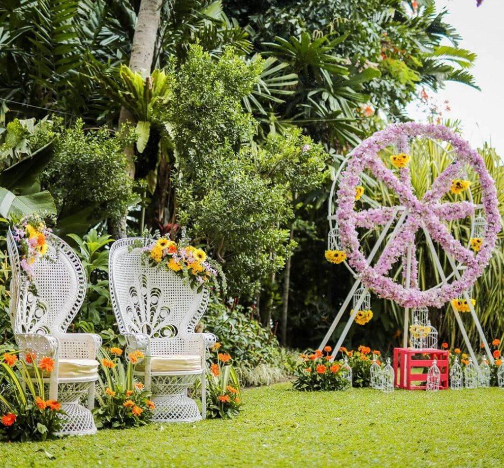 Floral Ferris Wheel