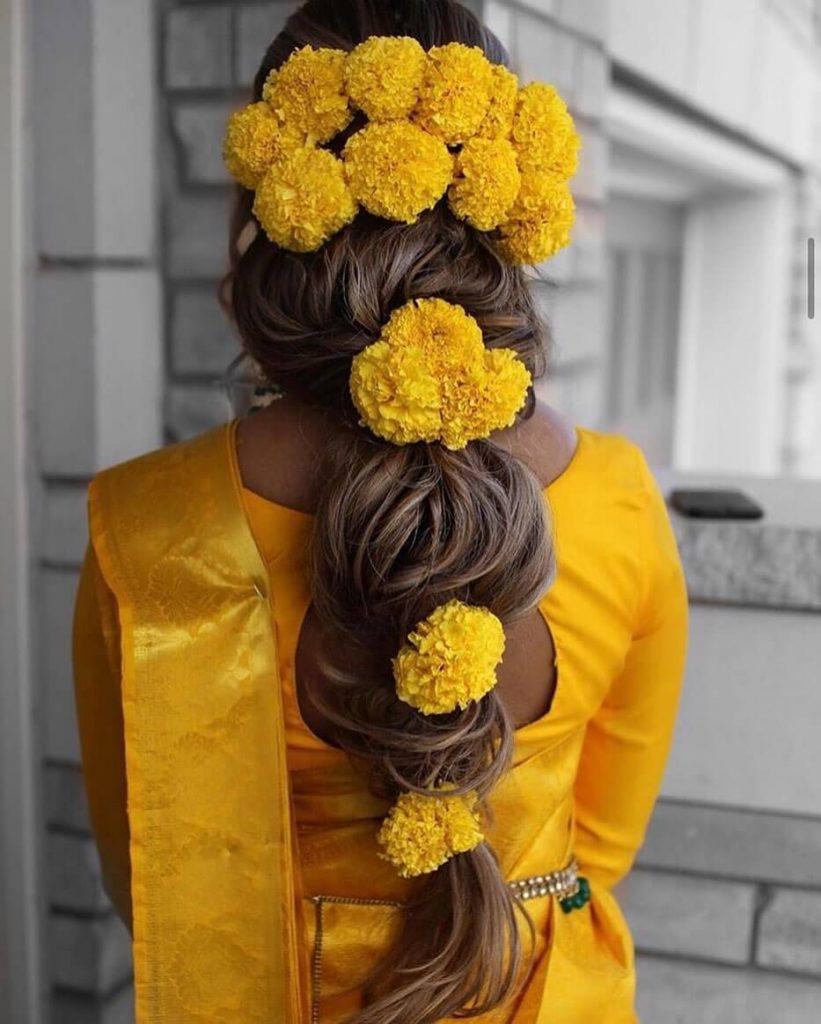 marigold hairstyle ideas