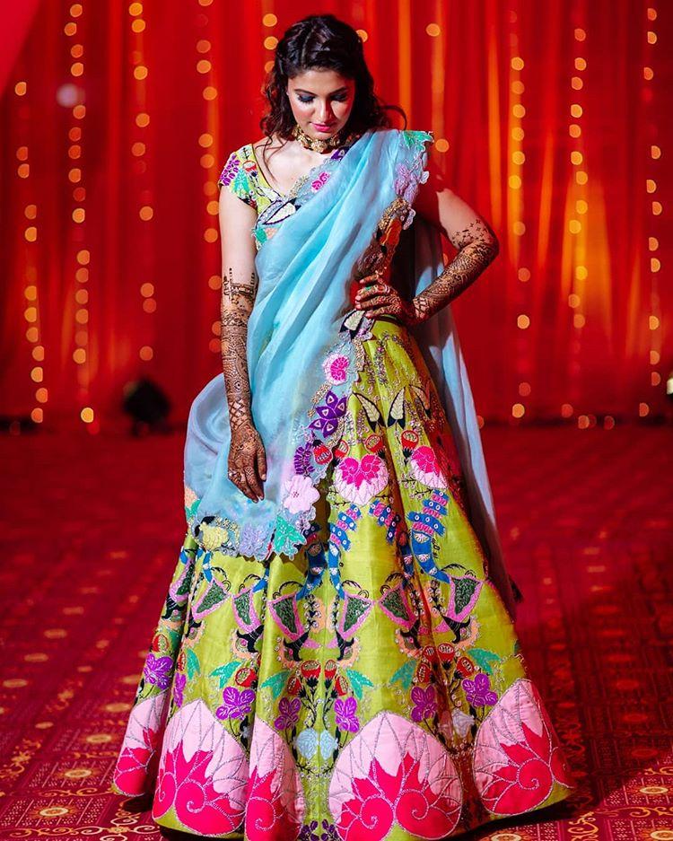 Sania Mirza's sister wedding, mehendi outfit ideas
