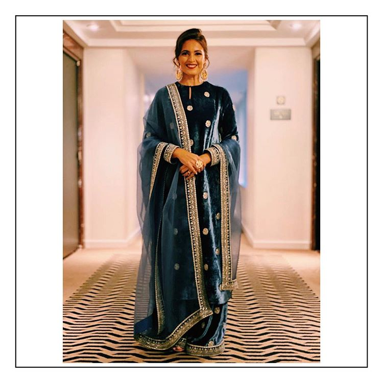 velvet outfits for brides