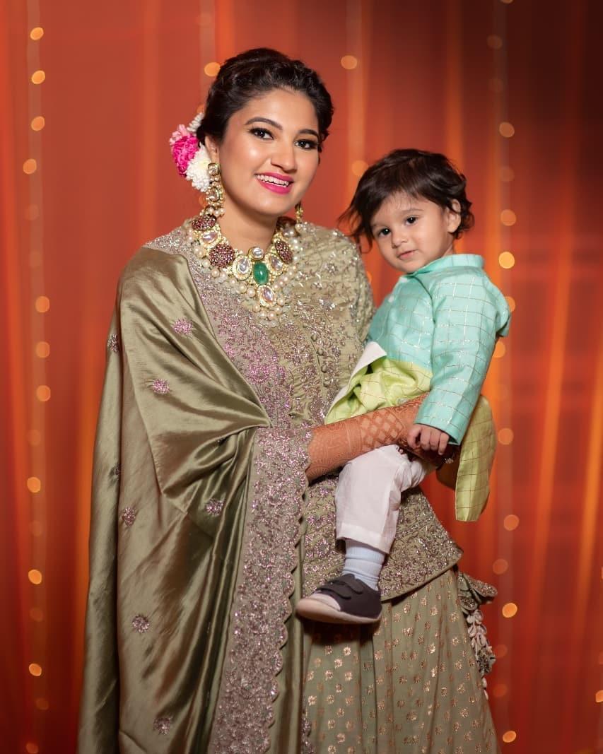 Sania Mirza's sister wedding, bridal outfit ideas