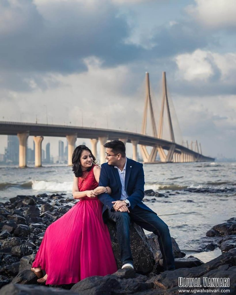 Pre edding shoot locations in mumbai