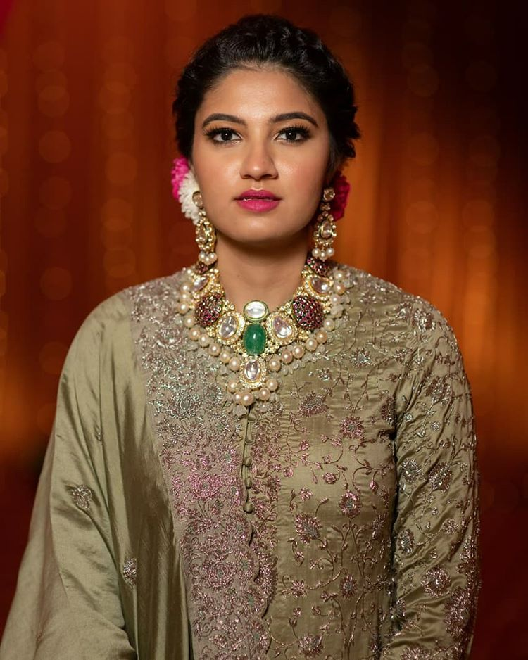 Sania Mirza's sister wedding, bridal outfit ideas, bridal jewellery