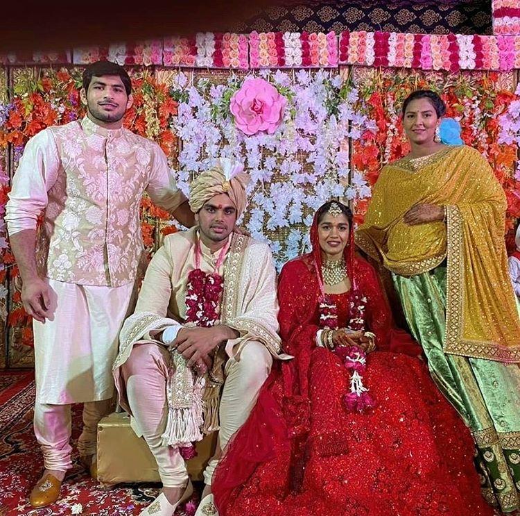 Babita Phogat and Vivek Suhag