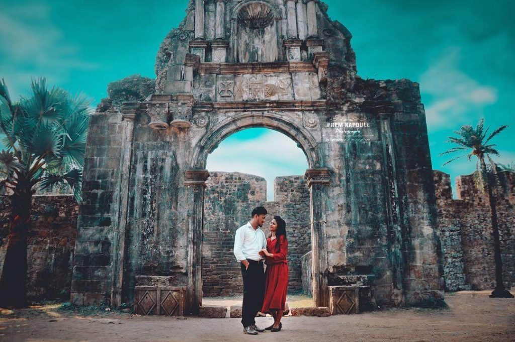 pre wedding shoot,Vasai Fort