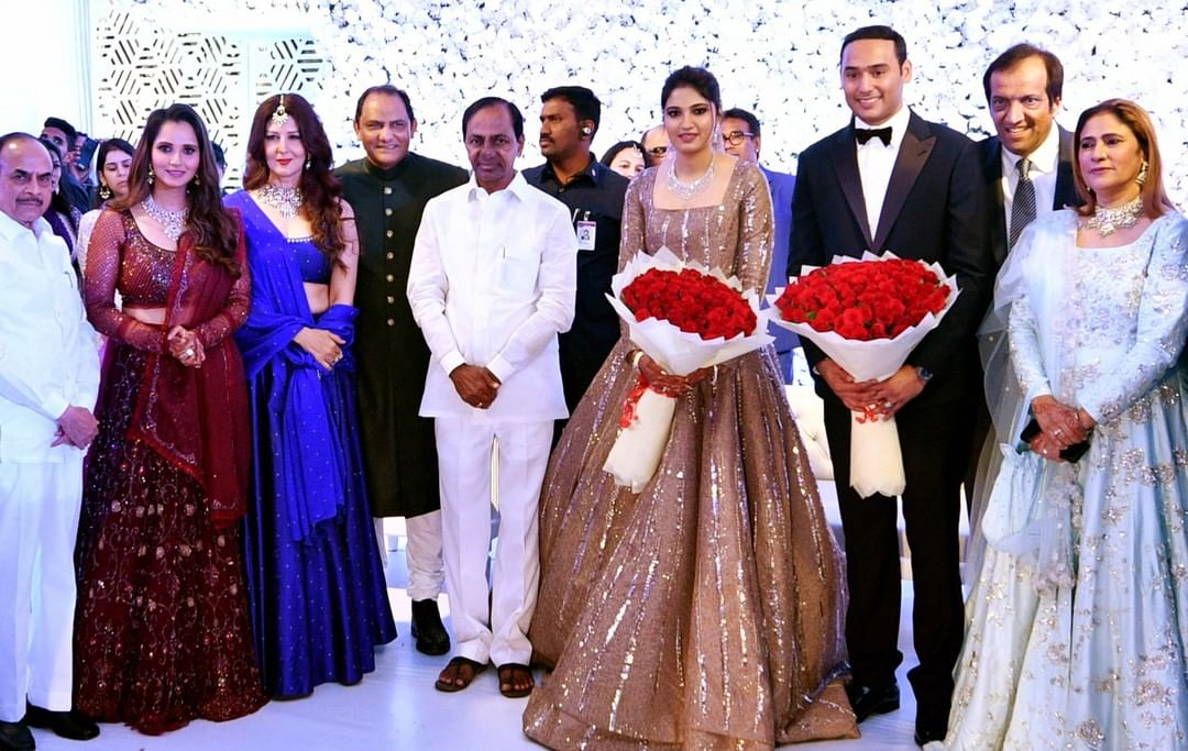 Sania Mirza's sister, reception