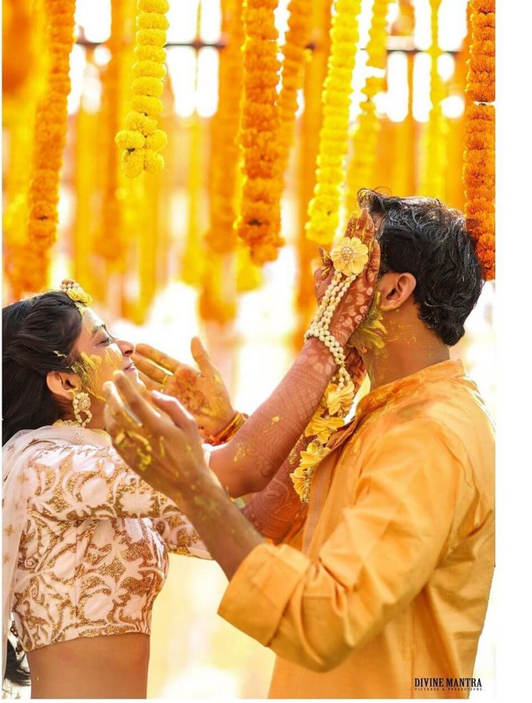 Haldi Ceremony Photos