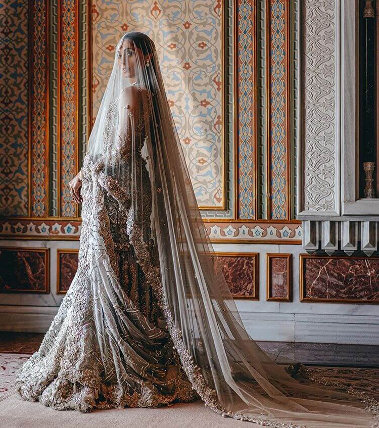 Bridal Veils And Trains,trends 2020