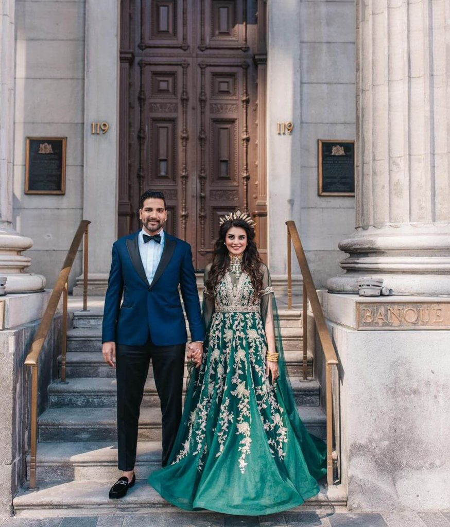 Muslim Bridal Outfit