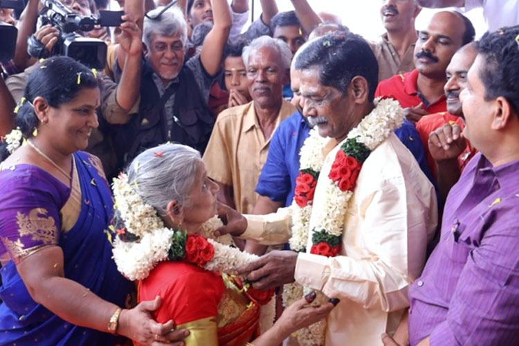 Kerala Couple In Their 60's