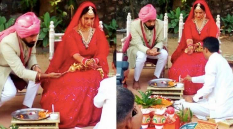 mona singh wedding