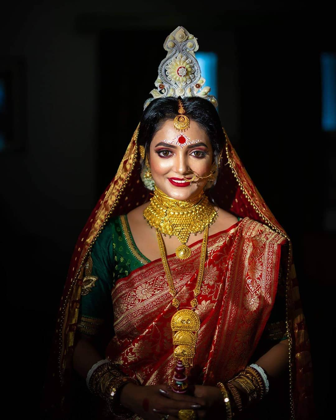Bridal Makeup Cost in Kolkata, Bengali bride