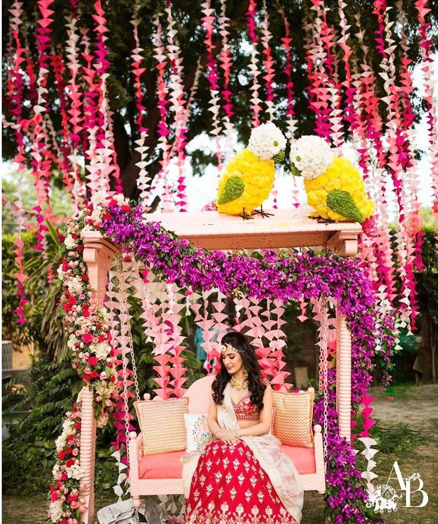 bridal sitting ideas