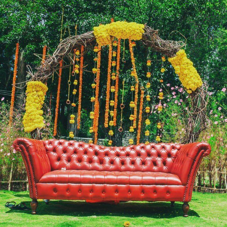 floral wreath ideas