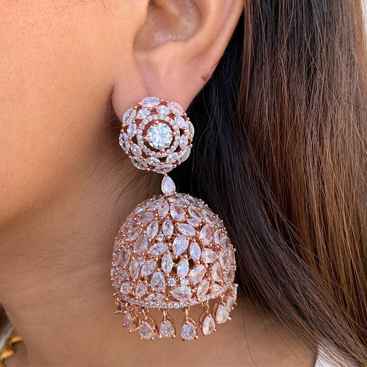 diamond jhumki