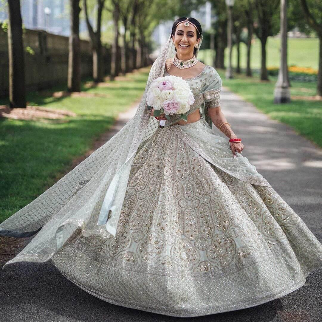 Sabyasachi bridal lehenga