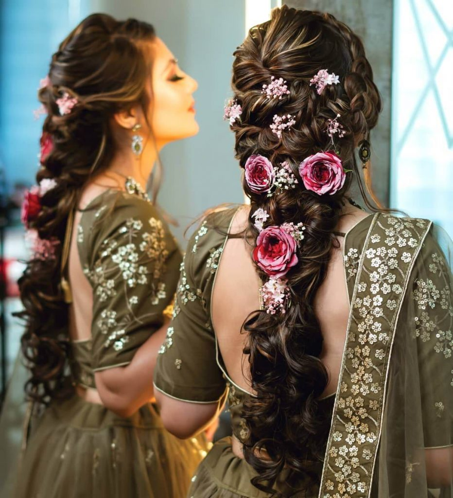 floral hairstyle ideas