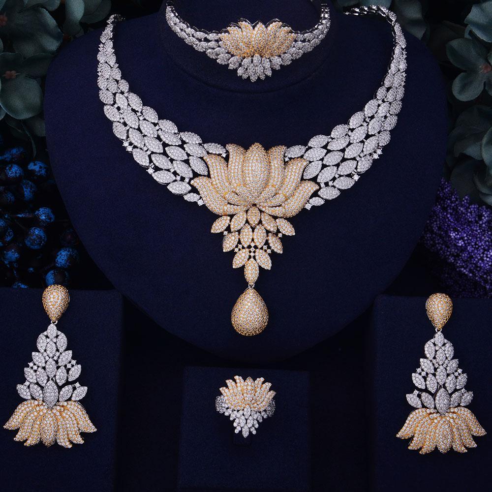 diamond jewellery, lotus flower jewellery