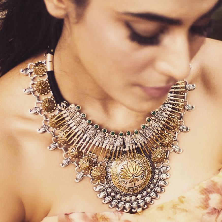 lotus motif jewellery