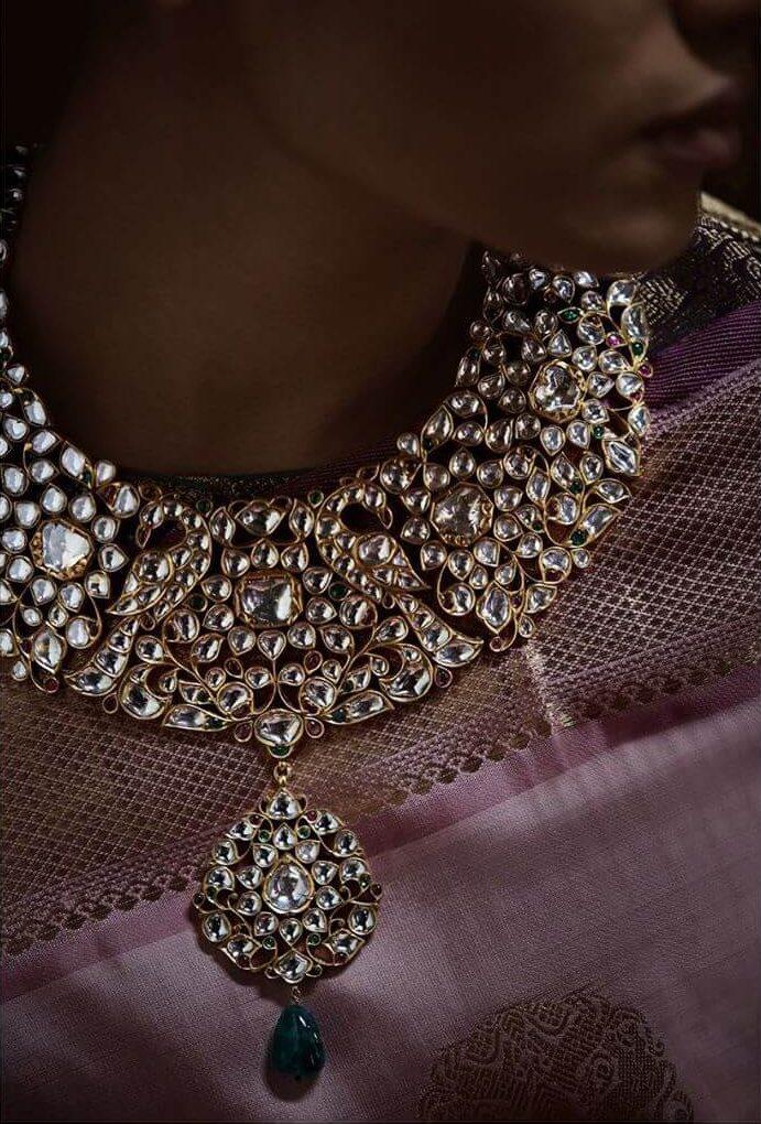 Polki And Kundan Jewellery Cost