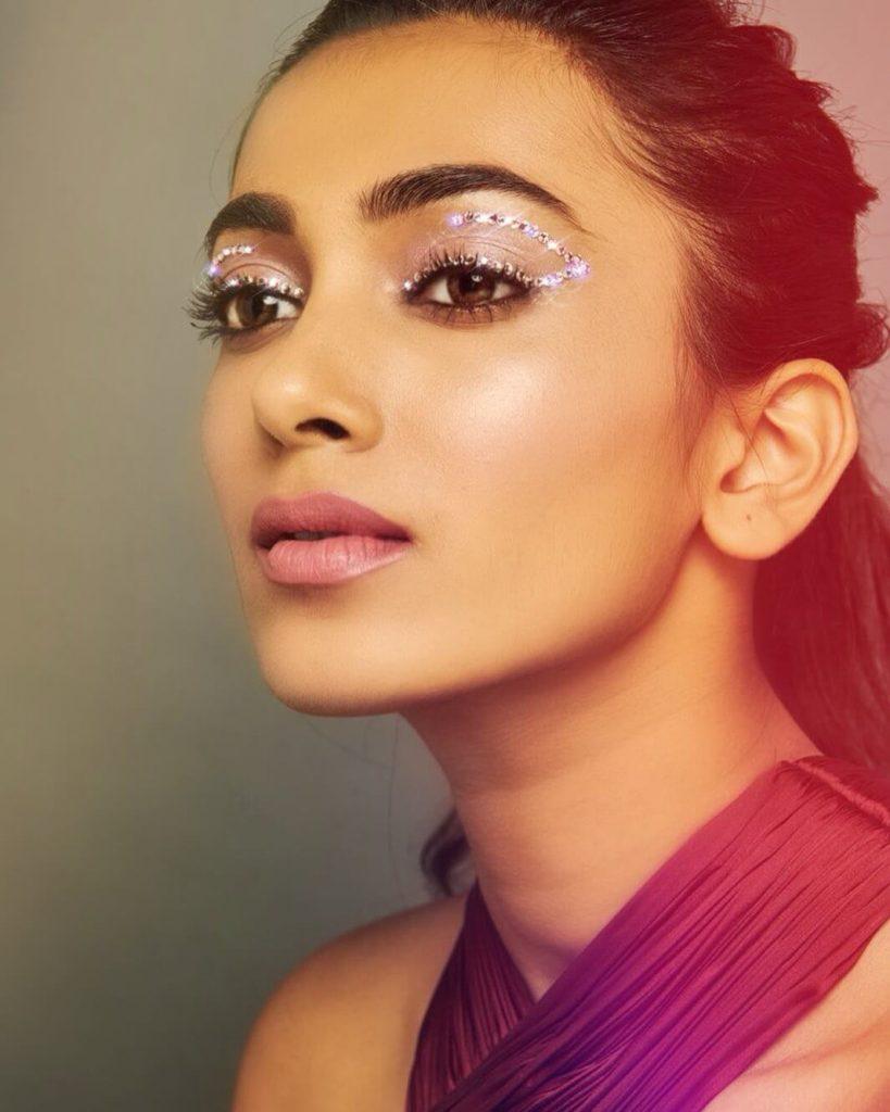 Swarovski Eye Makeup Look