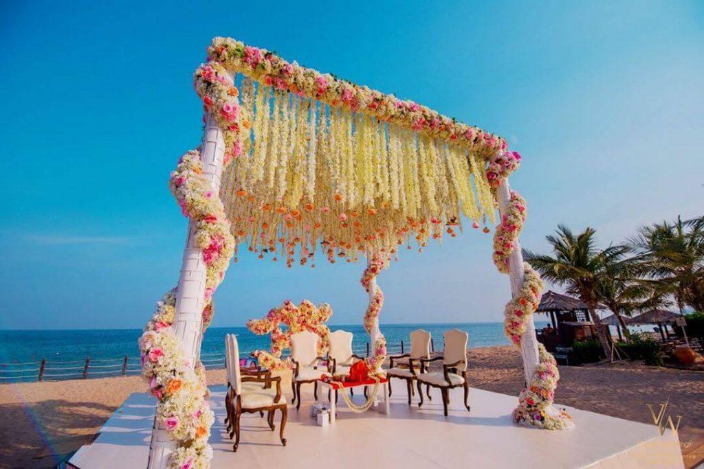 floral mandap decor ideas