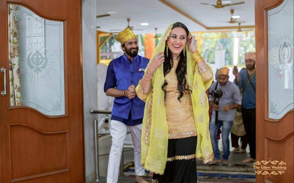 Kamya Punjabi's engagement