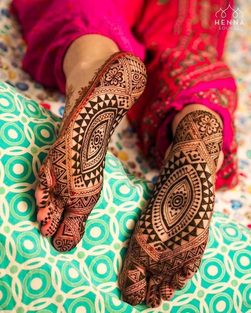 feet mehendi designs
