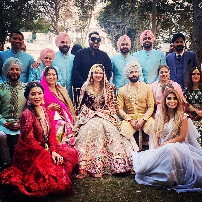 gurdas maan son's wedding
