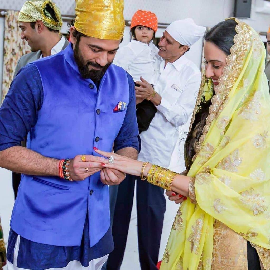 engagement of Kamya Punjabi