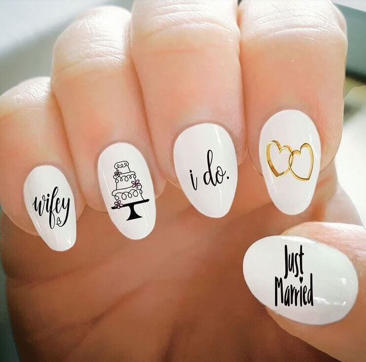 customised nail art