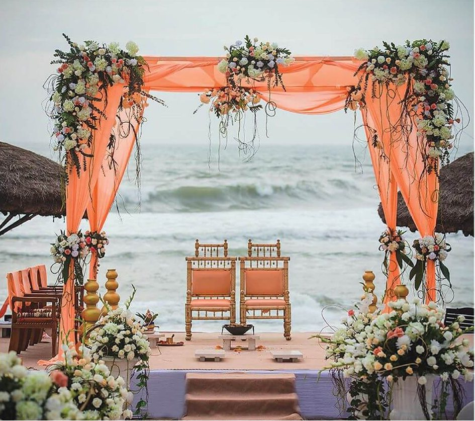 Amazing Beach Mandap Decor Ideas For Your Destination Wedding!