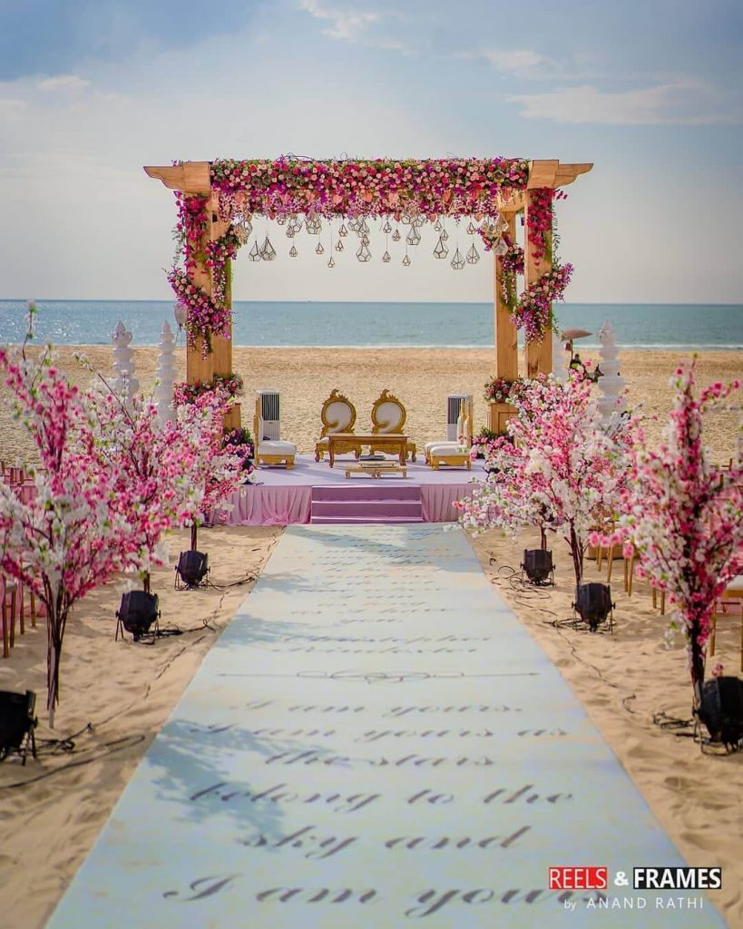 beach wedding trends