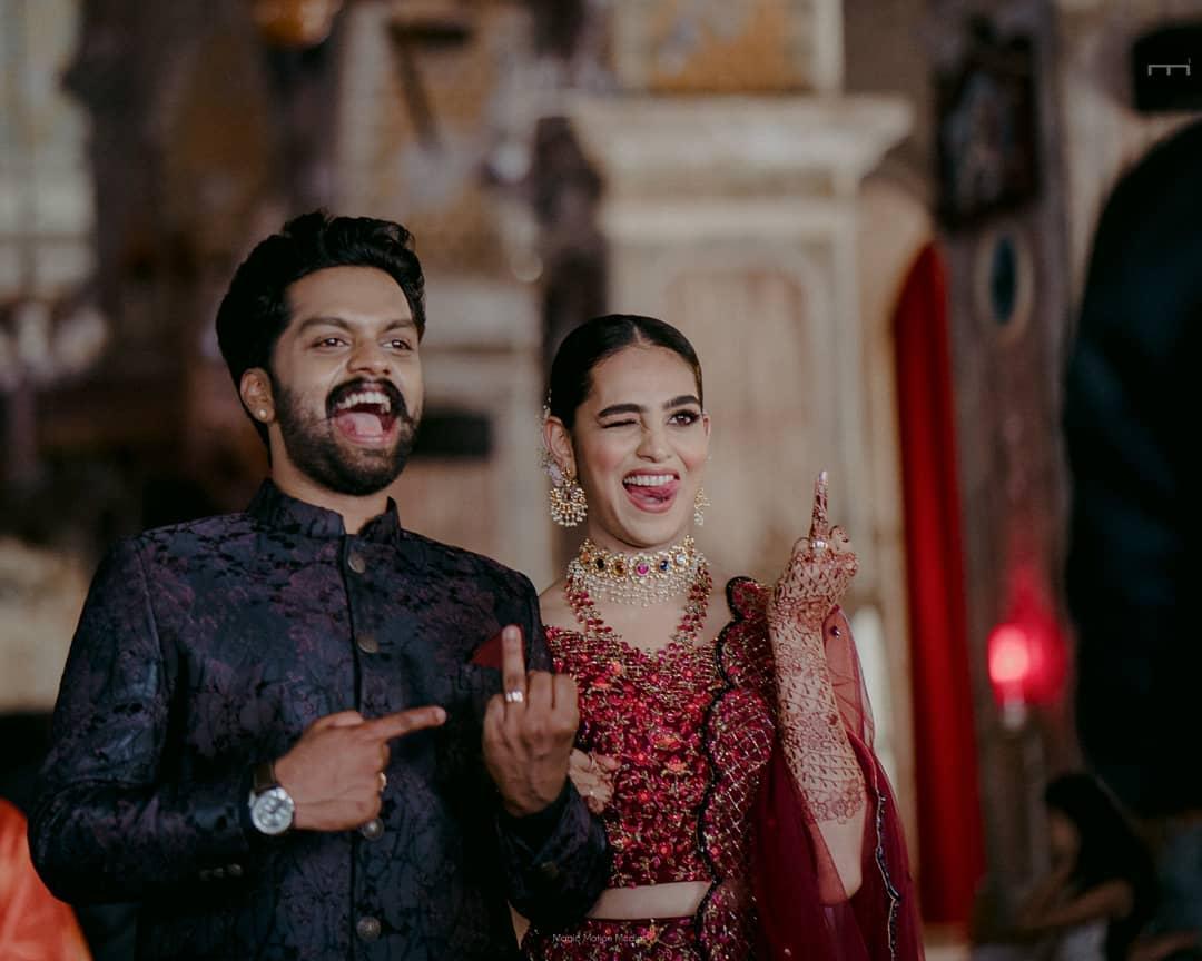 Balu Varghese's Wedding, engagement ceremony