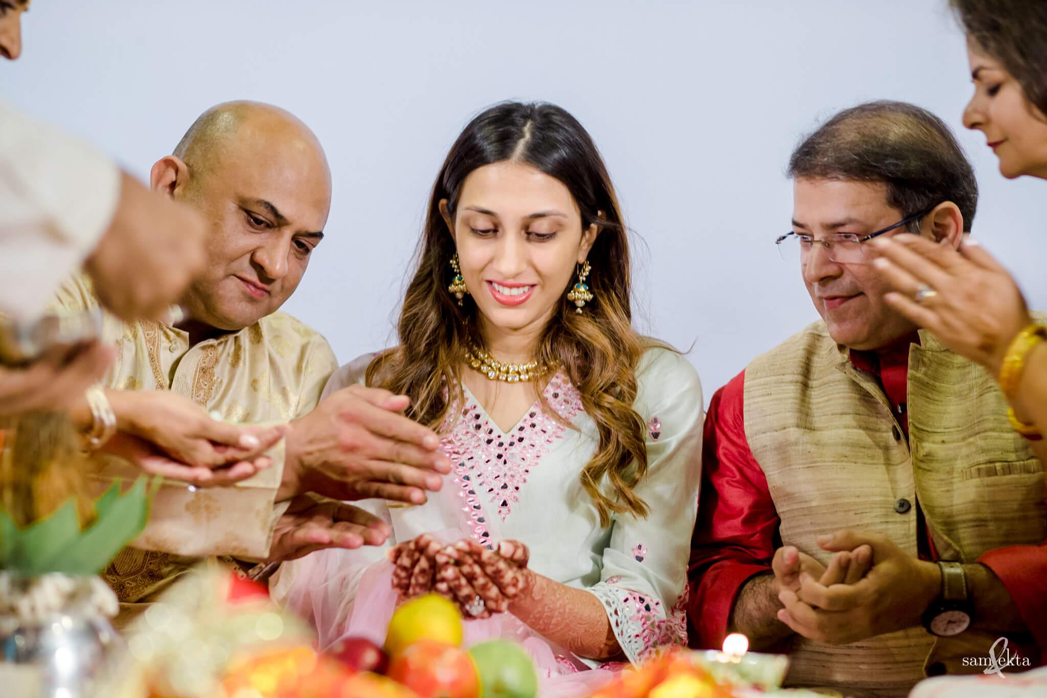 wedding rituals, Armaan Jain And Anissa Malhotra's Wedding