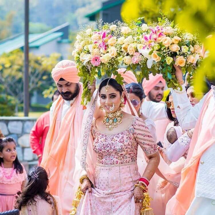 bridal phoolon ki chadar