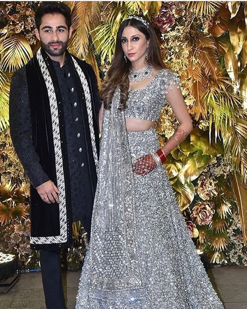 Armaan Jain And Anissa Malhotra's Wedding Reception