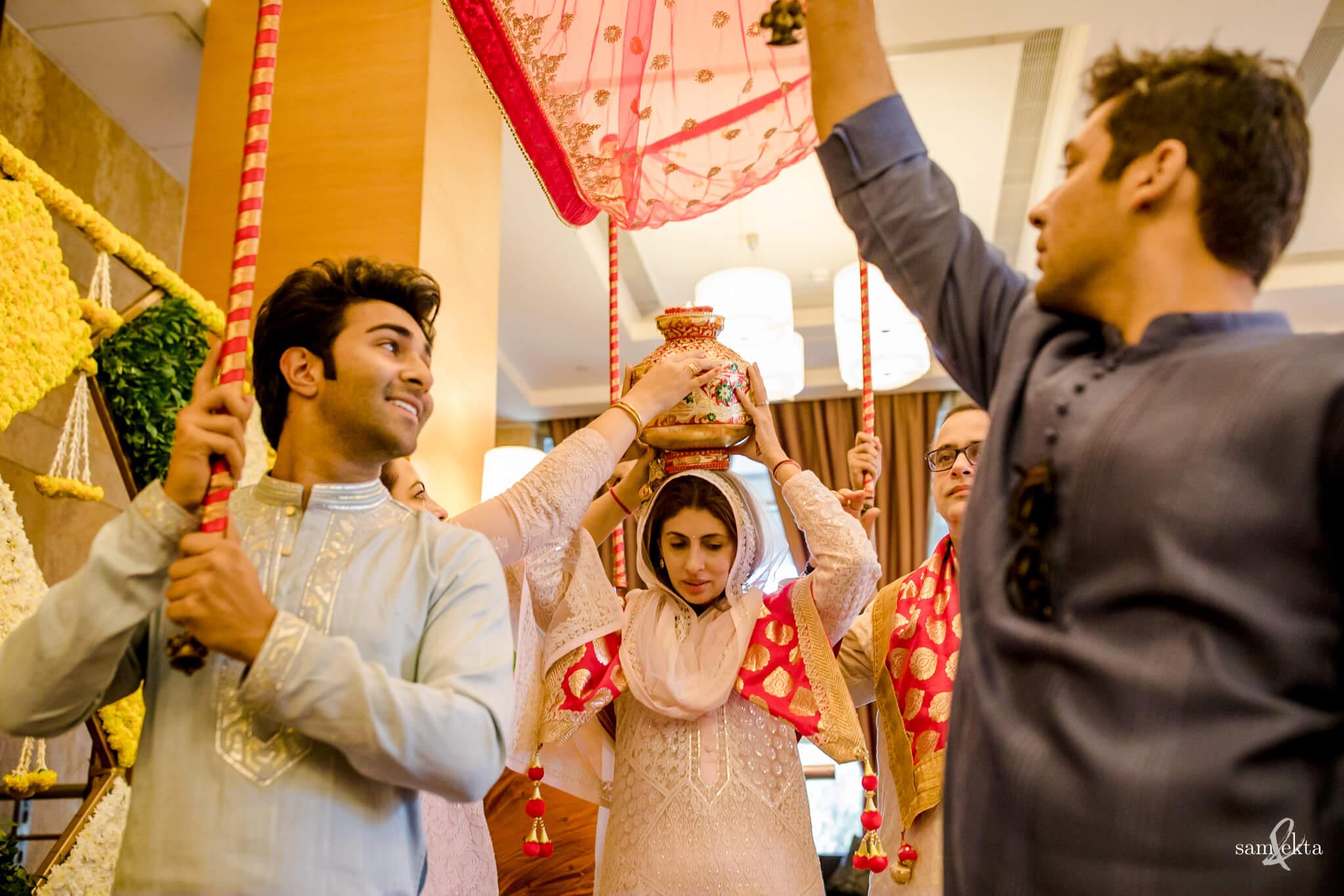 Armaan Jain and Anissa Malhotra's wedding pictures