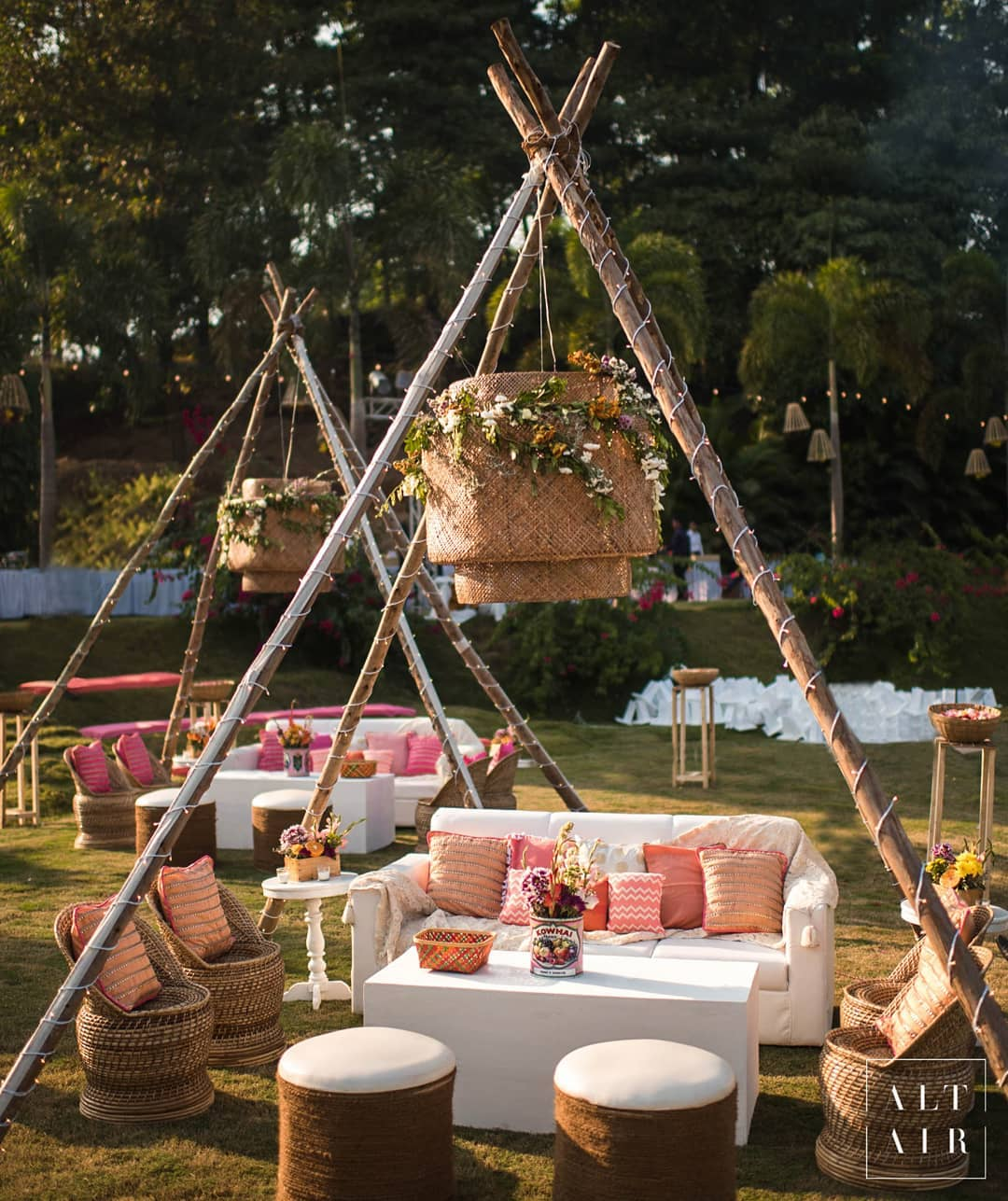 teepee tent decor
