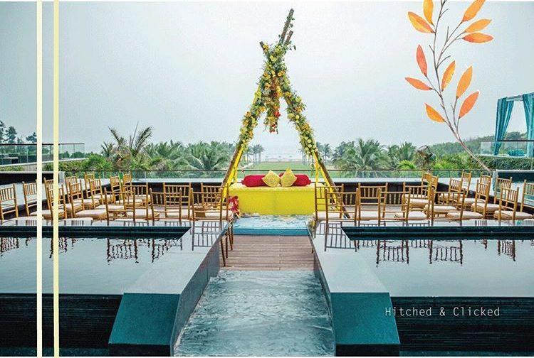canopy decor, summer wedding decor