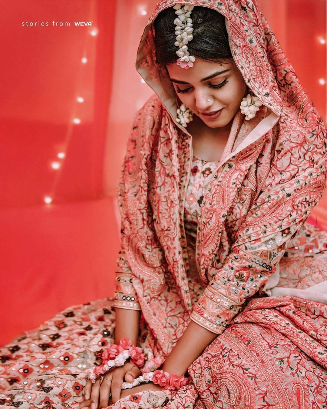 phulkari embroidery, bridal wear