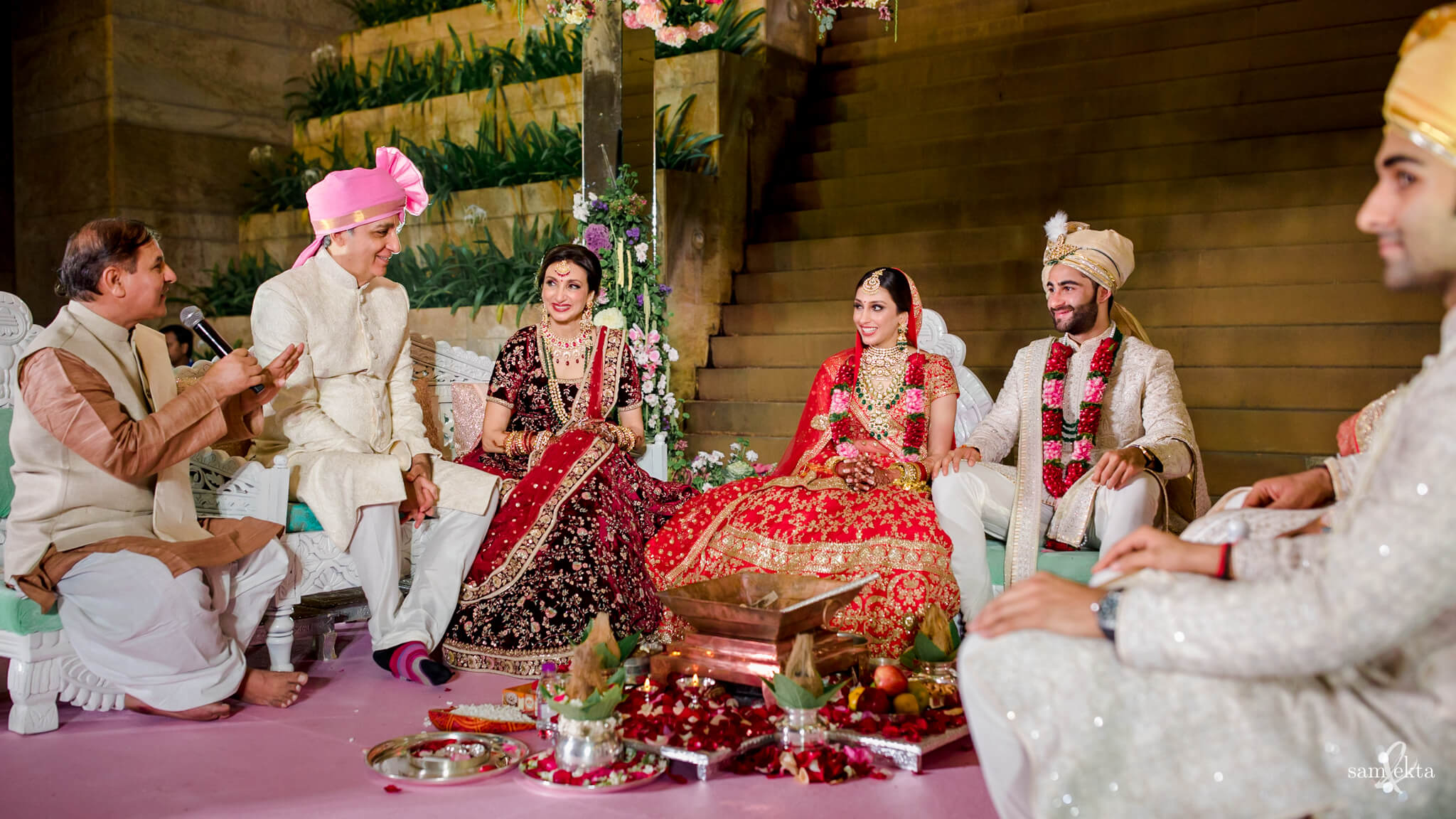 weding rituals, Armaan Jain And Anissa Malhotra's Wedding