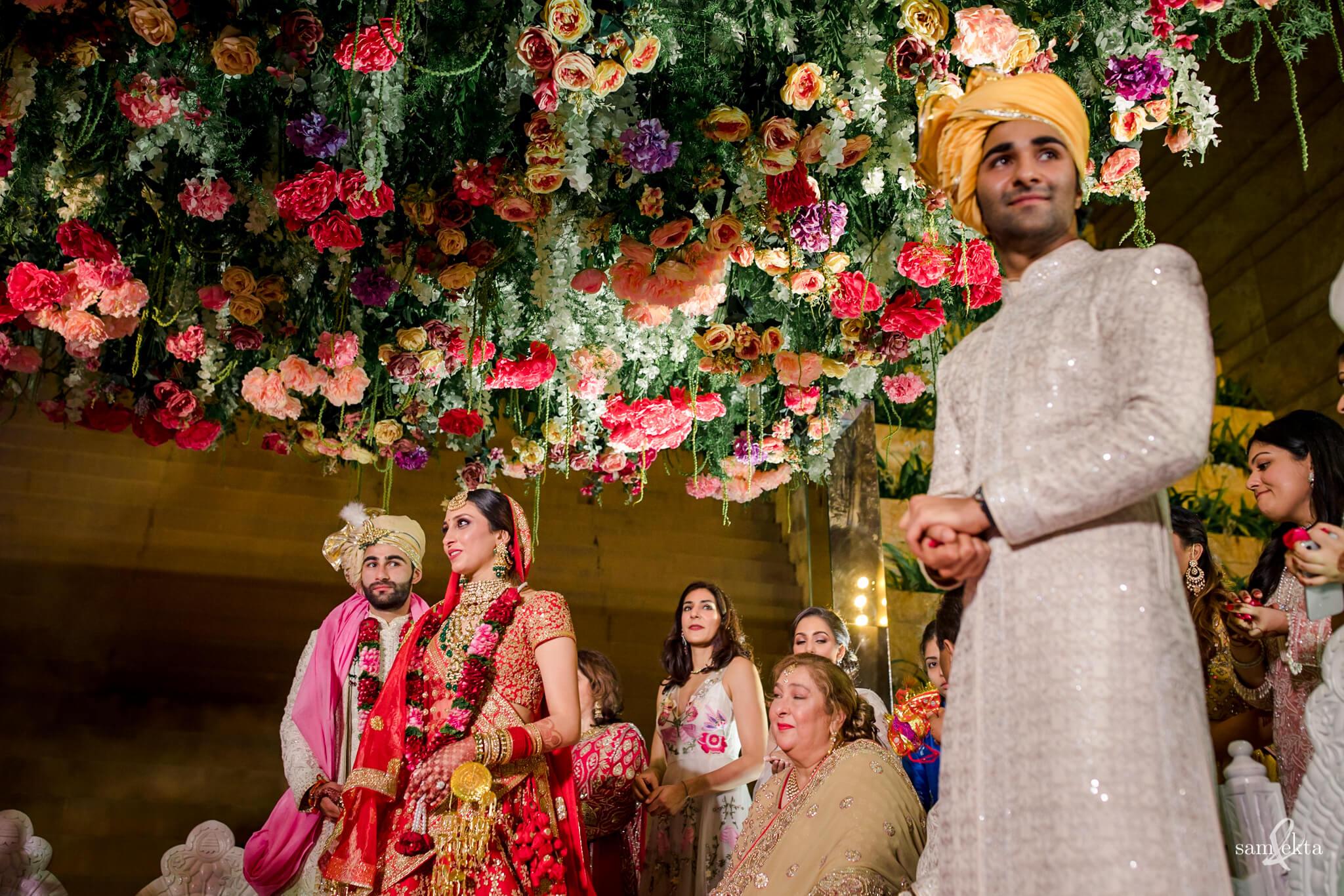 wedding decor, Armaan Jain And Anissa Malhotra's Wedding