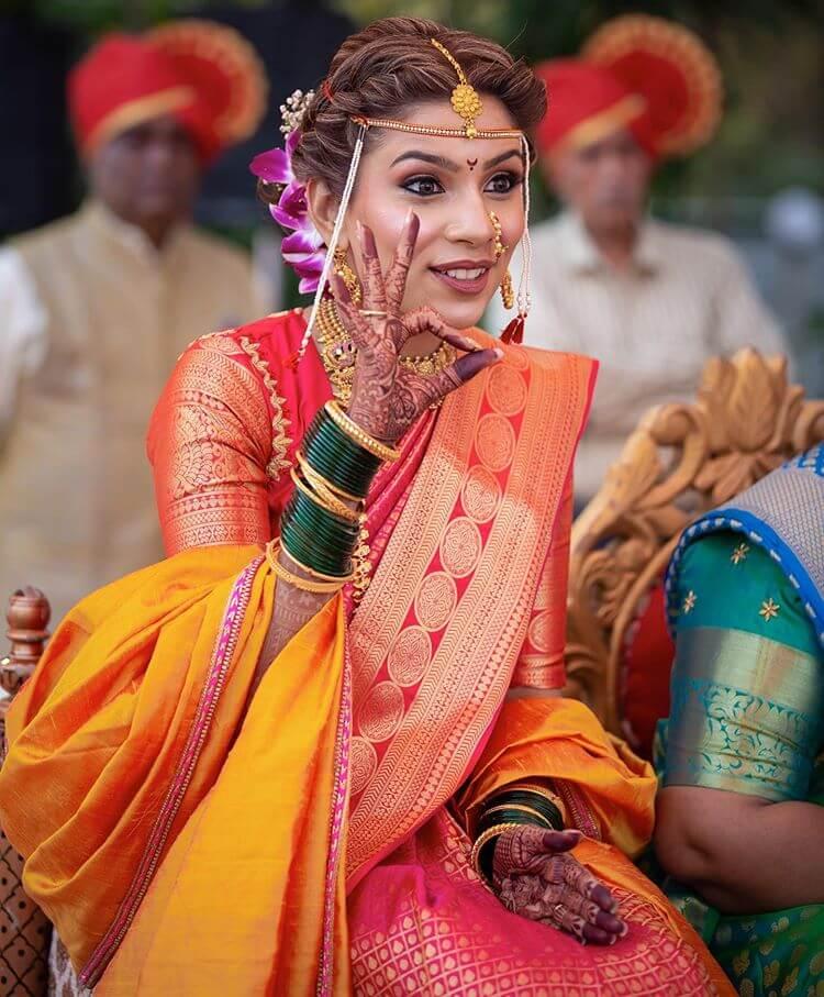 marathi bridal makeup
