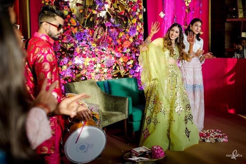 Anissa And Armaan's Mehendi Ceremony