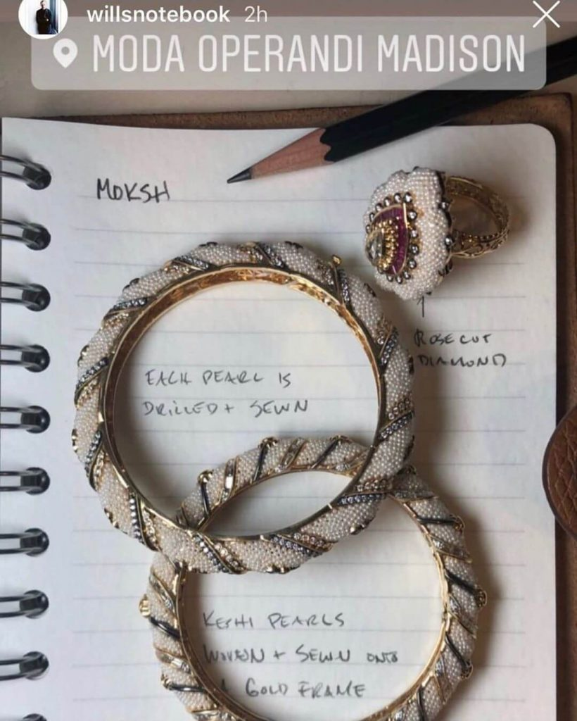 Pearl Bangles And Kada Designs