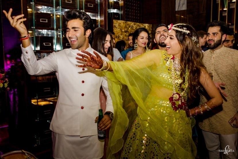 couple dance, Armaan Jain's mehendi ceremony